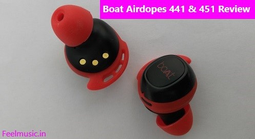 Boat Airdopes 451 And 441 Review