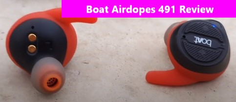 Boat Airdopes 491  True wireless earpod