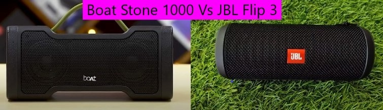 Boat Stone 1000 VS JBL Flip 3 bluetooth speakers
