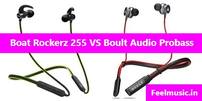 Boat Rockerz 255 vs Boult Audio Probass