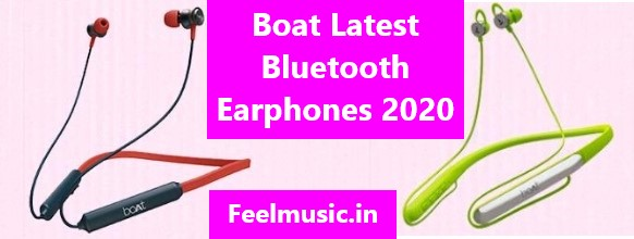 Boat Latest Bluetooth Earphones India