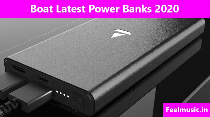 Boat Latest Power Banks 2020