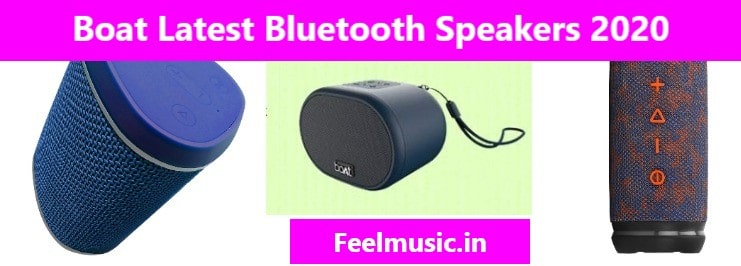 Boat latest bluetooth portable speakers