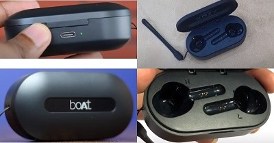 Boat airdopes 611 charging case