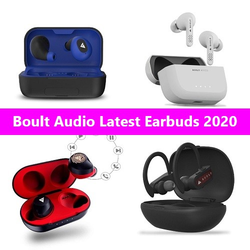 Boult latest earbuds 2020