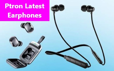 Ptron new bluetooth earphones