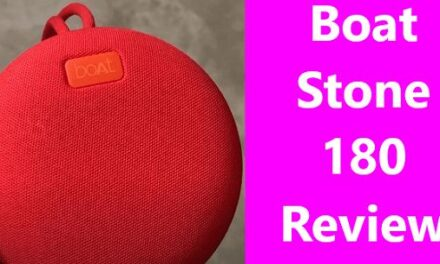 Boat Stone 180 Bluetooth Speaker Full Review