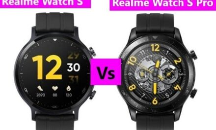 Realme Watch S Vs Watch S Pro Specifications Comparison