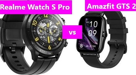 Realme Watch S Pro VS Amazfit GTS 2 Comparison Review