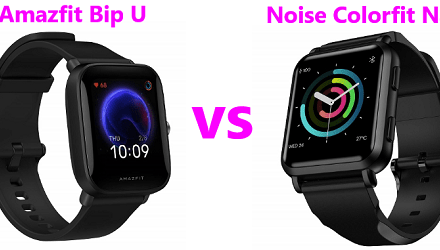 Amazfit Bip U Vs Noise Colorfit Nav Comparison