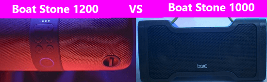 Boat Stone 1200 Vs 1000 Comparison: Which Bluetooth Speaker is Better?