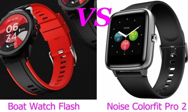 boAt Watch Flash VS Noise ColorFit Pro 2 Comparison