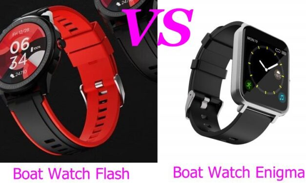BoAt Watch Flash VS boAt Watch Enigma Smart Watch Comparison