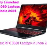 Latest Nvidia RTX 3060 Gaming Laptops in India 2021(May)