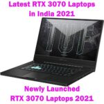 Latest NVIDIA RTX 3070 Graphics Gaming Laptops in India 2021(May)