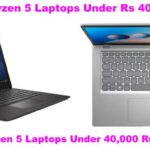 7 Best AMD Ryzen 5 Laptops Under 40,000 in India 2021(May)