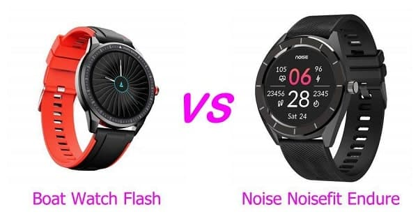 Boat Watch Flash and Noise NoiseFit Endure Comparison
