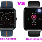 Boat Xplorer Smartwatch Vs Boat Storm Comparison: Which is Best Watch?