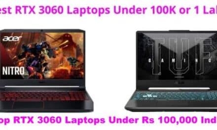 Best RTX 3060 Gaming Laptops Under 1 Lakh in India 2021 (August)