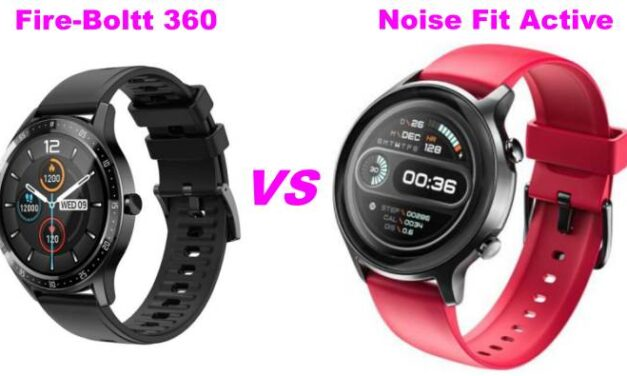 Fire-Boltt 360 Vs Noise Fit Active: Which Smartwatch Is Best?